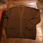 60's vintage wool cardigan (t-rank)