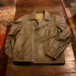 sophnet leather rider jacket