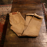 RRL brown selvage denim