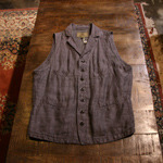 nigel cabourn linen mallory vest