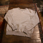 buzzrickson grey sweat shirt