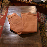 denime brown selvage pants