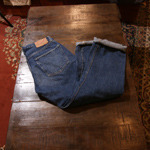 orslow denim pants