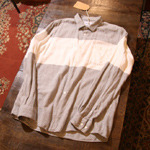 norse project stripe shirt