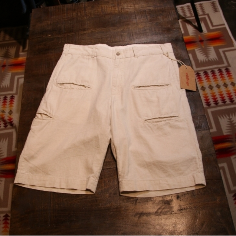 engineered garments pocket shorts