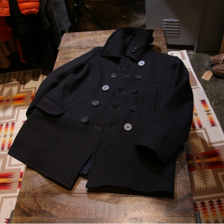 the real mccoys U.S.NAVY 1913 PEA COAT (42)