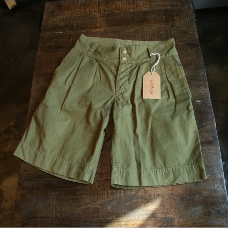 nigel cabourn military shorts
