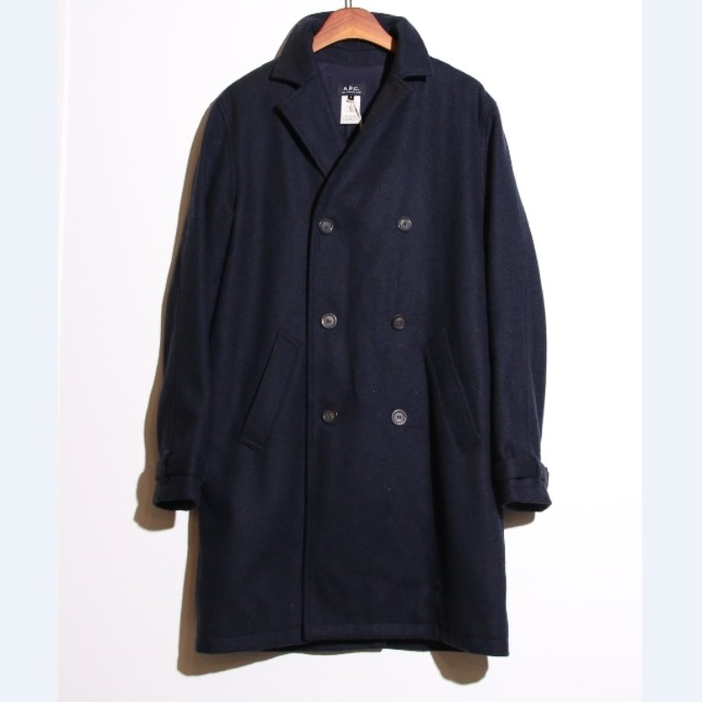 A.P.C. wool double coat
