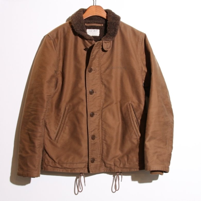 cootie N-1 deck jacket (L)