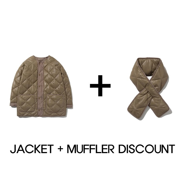 wildhogs quilted jacket + muffler discount