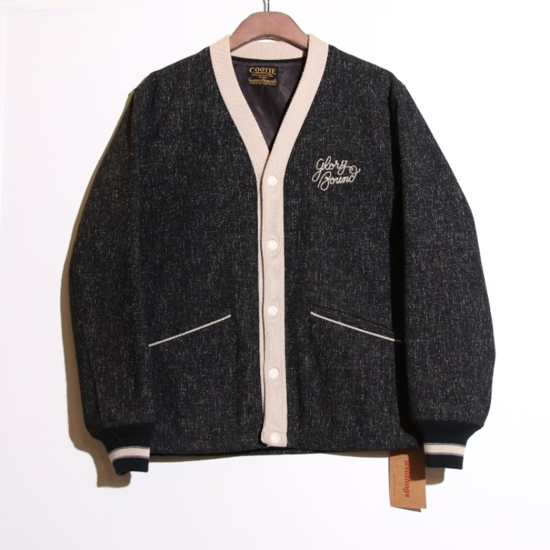 cootie wool stadium jacket (XL)